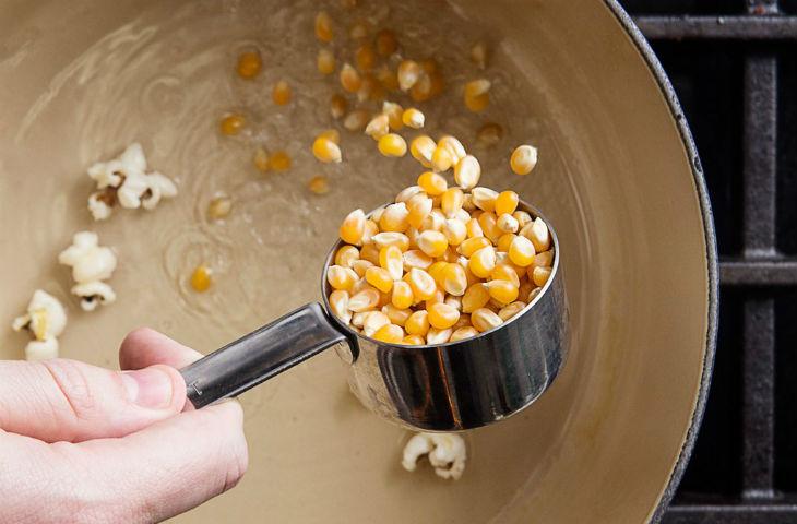 Как сделать зерна для кукурузы 901