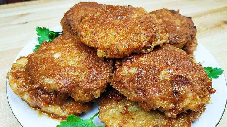 Луковые котлеты за 10 минут: готовим без грамма мяса