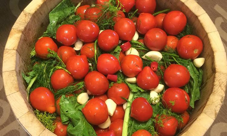 Квашені помідори як бочкові. Помідори НЕ засолюють, а заквашують як капусту