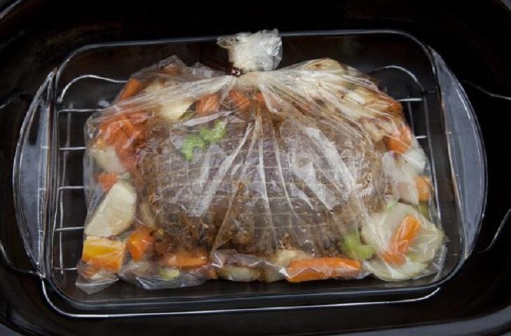 как запечь рыбу в духовке в пакете для запекания